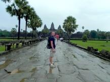 Angkor sous la pluie