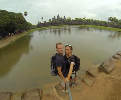 Angkor Wat view